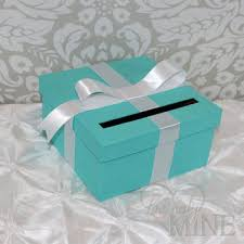 Tiffany And Co Gift Wrapping - card holder tiffany u0026 co inspired box from lovinglymine on