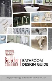 bathroom design guide bathroom design guide bauscher construction remodeling inc