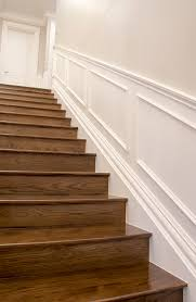 hamptons style staircase using intrim group sk497 skirting