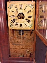 Forestville Mantel Clock Antique Forestville Ogee Shelf Clock Not Running Nice Face And