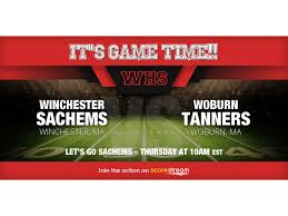 winchester football to host woburn in annual thanksgiving day