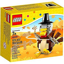 thanksgiving legos lego thanksgiving turkey 40091 125 pieces toys