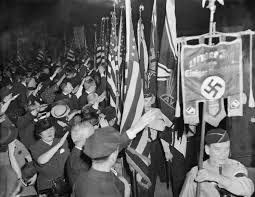 German Flag 1940 In The 1930s Thousands Of American Hailed George Washington