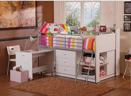 savannah storage loft bed with desk white walmart kids bedroom