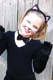 Black Cat Halloween Costume Kids 20 Cat Makeup Halloween Ideas Simple Cat