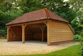 Barn Style Garages Oak Frame Garage Google Search Timber Frame Traditional