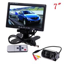 Lcd Wifi Wifi Reversing With 15 Ir Led Lcd Monitor 7 Cool Mania