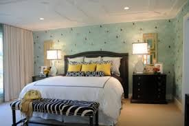 room decorating ideas for young women with calming wall paint
