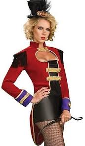 Ringmaster Halloween Costume Lion Tamer Halloween Costume Collection Ebay