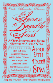 seven deadly sins seven deadly sins show comedians writers and performers