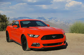 Black And Red Mustang Rims 2015 Ford Mustang Reviews And Rating Motor Trend