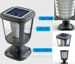 Solar Powered Post Cap Lights by Outdoor Garden Pin Spot Light Outdoor Garden Pin Spot Light