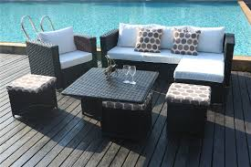 Yakoe Garden Furniture Yakoe Monaco 9 Seater Sofa Set