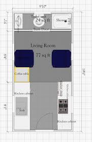 Tiny House Plan by Free Tiny House Plan Without Loft Under 400sq Ft Tiny Quality