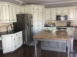 white kitchen cabinets with gray glaze kitchen remodel glazed white cabinets black granite with