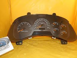 used chevrolet trailblazer ext instrument clusters for sale