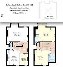 3 bed maisonette for sale in challoner court london london w14