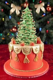 Christmas Cake Decorating No Icing by Top 10 Christmas Cake Designs
