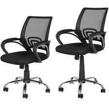 Ergonomic Office Chairs With Lumbar Support Best Choice Products Ergonomic Mesh Computer Office Desk Task