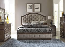 Discount King Bedroom Furniture by Liberty Furniture Amelia King Bedroom Group Great American Home