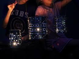 how to make a tin can lantern hgtv