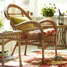 Santa Barbara Wicker Patio Furniture - santa barbara light brown armchair pier 1 imports