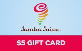 5 gift card jamba juice 5 gift card like my practice