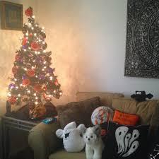 orange halloween tree october 2016 the stylish nest