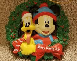 vintage disney ornaments etsy