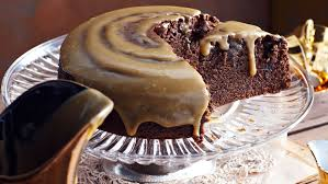 golden syrup chocolate cake with fudge icing recipe food to love