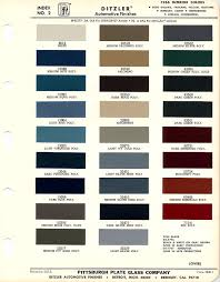 1966 mustang interior paint charts maine mustang misc auto