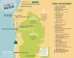 Point Lobos State Reserve Map by Big Sur Updates Monterey Peninsula Chamber Of Commerce Ca