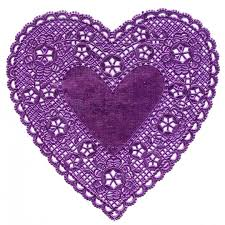 heart doilies heart doilies for valentines