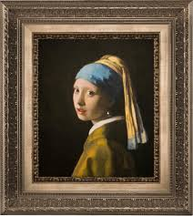 painting the girl with the pearl earring purchase a 3d re creation of girl with a pearl earring by vermeer