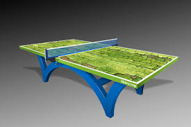 Handmade Custom Ping Pong Tables By Uberpong By Uberpong - Designer ping pong table