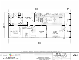 champion manufactured homes floor plans cm4602s 3 bed 2 bath 1600 sqft affordable home for 87900