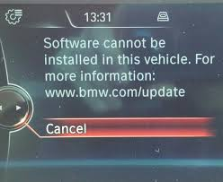 Bmw X5 Update - f30 software update