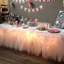 Tutu Party Decorations Best 25 Tutu Table Skirts Ideas On Pinterest Tutu Table Tulle