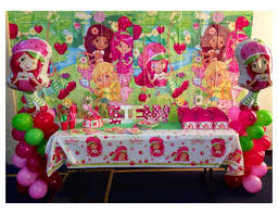 strawberry shortcake party supplies strawberry shortcake birthday strawberry shortcake inspired
