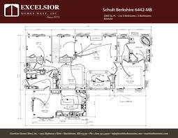 schult modular home floor plans schult berkshire modular excelsior homes west inc