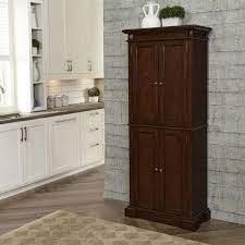 kitchen storage cabinets home depot homestyles cherry food pantry 5005 69 the home depot