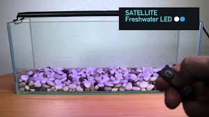 Aquarium Led Lighting Fixtures Current Usa Satellite Led Light Fixtures Product Demo