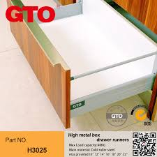 drawer boxes drawer runners soft close hinges ball bearing drawer