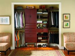How To Make A Closet With Curtains Small Closet Organization Ideas Pictures Options U0026 Tips Hgtv