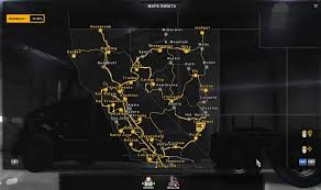 kenworth dealers in california new cities in nevada and california mod american truck simulator