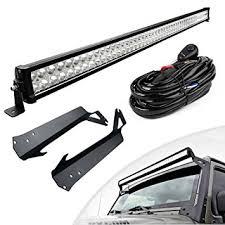52 inch led light bar cover amazon com led light bar yitamotor 52 inch light bars with mounting