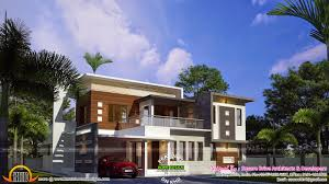 contemporary villa 255 sq m kerala home design and floor plans