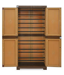Buy Nilkamal Chairs Online Bangalore Nilkamal Freedom Mini Shoe Cabinet 18 Sandy Brown Dark Brown Buy