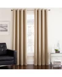 95 Inch Curtain Panels Amazing Deal On Twilight 95 Room Darkening Grommet Window Curtain