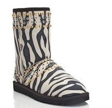 ugg zebra boots sale ugg jimmy choo womens 3047 zebra black boots uk sale